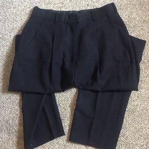 DKNY Navy wool pants, 6